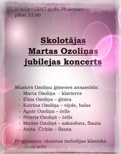 martas ozolinas koncerts