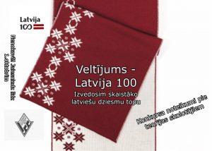 Veltījums – Latvijai 100