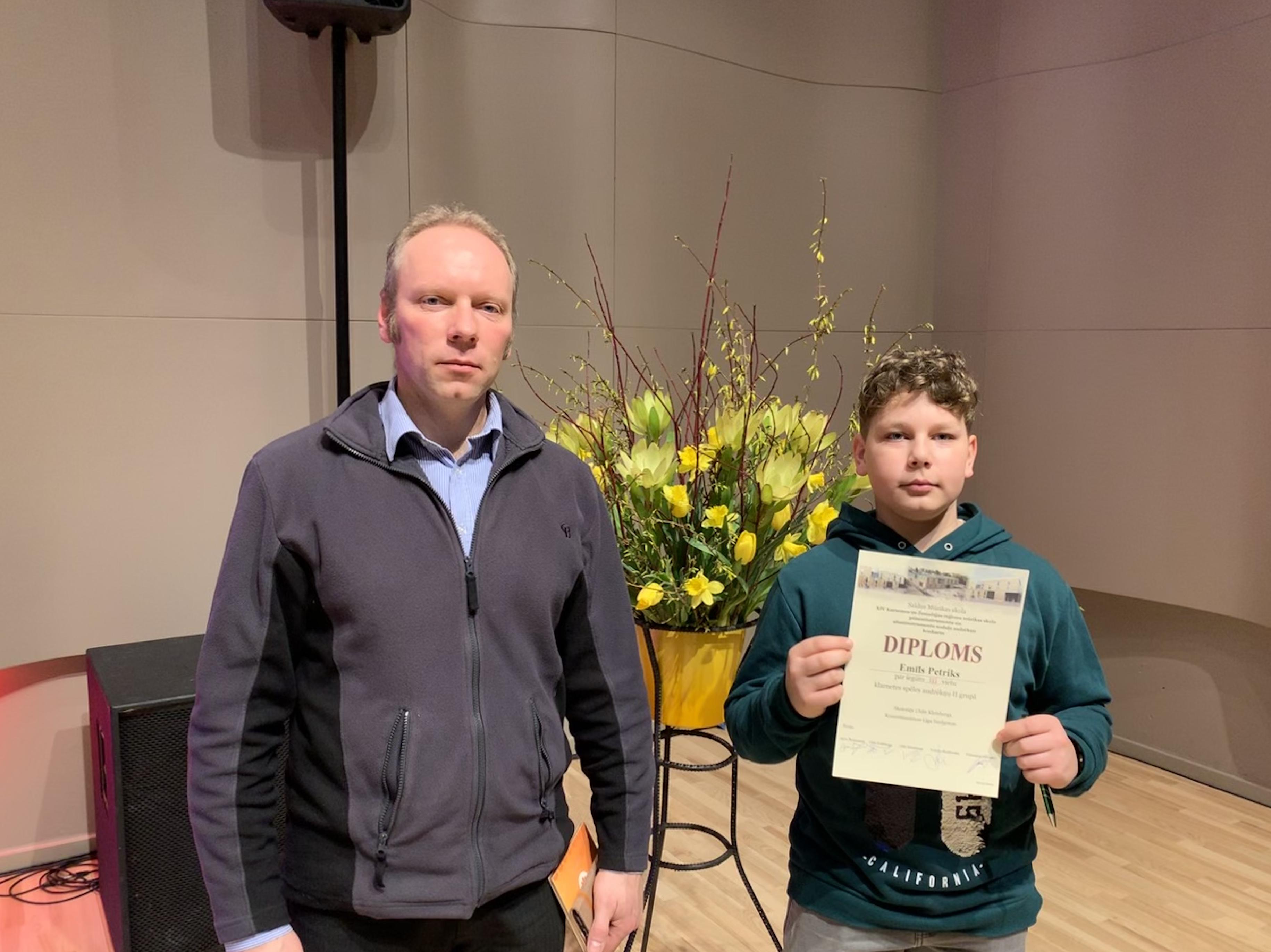 XIV Kurzemes un Žemaitijas reģionu mūzikas skolu pūšaminstrumentu un sitaminstrumentu nodaļu audzēkņu konkurss