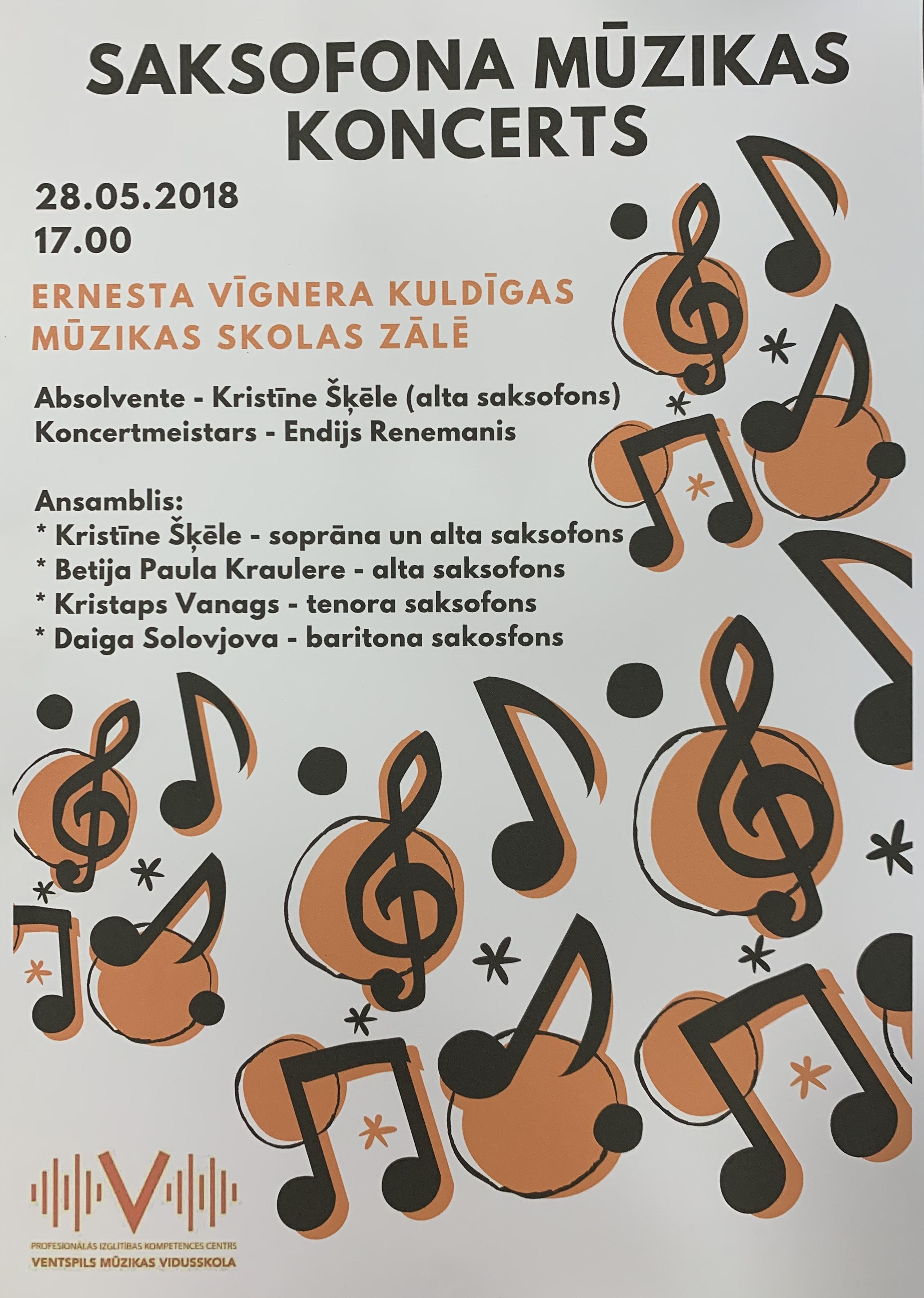 Saksofona mūzikas koncerts